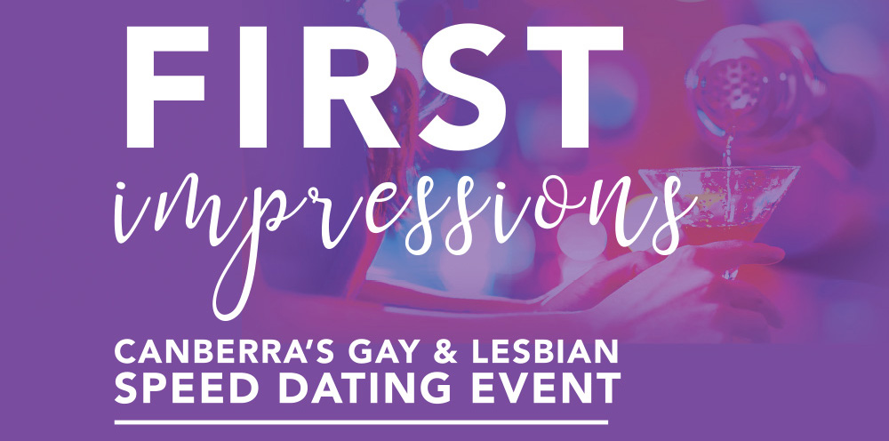 First impressions speed dating canberra