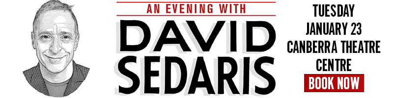 David Sedaris Jan23 Canberra